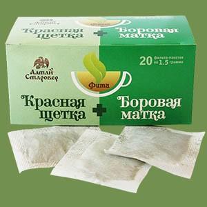 """Серия """"Фита"""" """"Красная щётка+Боровая матка"""" женский"""