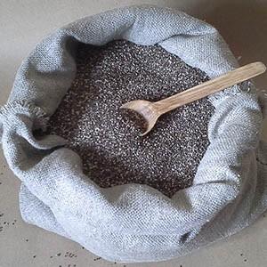 семена чиа от 10,5 до 30 кг